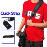 Caden Quick Rapid Camera Sling Strap Tas Gantungan Slempang Dslr -