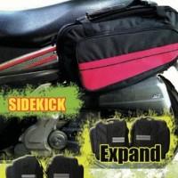 Sidebag Motor Side Bag Oval Tas Samping Motor Waterproof Funcover -
