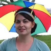Topi Payung Headband Umbrella Hat Topi Mancing Golf Unik Outdoor -