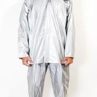 Jas Hujan Karet Pvc Tanabe S1 Jaket Jas Celana Elastis Waterproof -