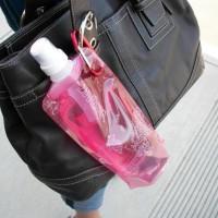 Botol Tempat Minum Lipat Mini Camping Outdoor Freezing Anti Bottle -