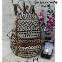 Harga jnjc tas lokal murah tas paket murah ransel motif   Pembandingharga.com