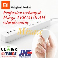 Charger Xiaomi Mi Smart Power Strip with 3 USB Port 2A FAST CHARGING