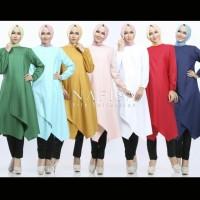Tunik/Atasan/Top/Katun Ima/Lily Collection/Nafisa/Tunik Nafisa/Katun