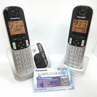 Wireless Cordless Phone Panasonic KX-TGC212 (2 Handset)