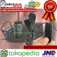 Spy Headset Hidden Camera Bluetooth BH 906 Video Foto Voice Recorder