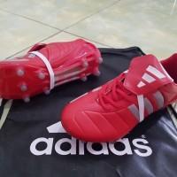 Sepatu Bola Adidas Terbaru Original Predator Mania FG - Red