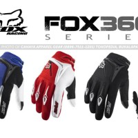 Sarung Tangan Motorcross - FOX360 - Keren Minimalis Nyaman Ngegrip
