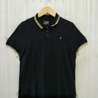 Black List Gold Polo Shirt by River Island
