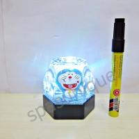 Pajangan pajangan tempat pen air Doraemon Segi 6