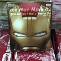 Nendoroid Iron Man Mark 42 Heros Edition + Hall Of Armor Set 5238