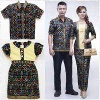 [ Kemeja Lengan Panjang] Batik Couple / Kebaya / Sarimbit Mentari Pj