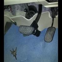 Harga Hemat! Pengaman Kunci Kopling Dan Rem Mobil + Gembok Nya .....