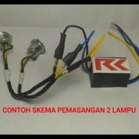 Produk Terlaris! Lampu Led Motor Supra X 125 (H6 Led + Cvdc) .