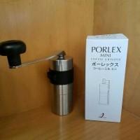 ORIGINAL porlex mini hand grinder coffee manual - alat penggiling kopi