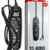 (Dijamin) Remote Timer Control Canon TC-80N3