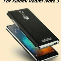 XIAOMI REDMI NOTE3 NOTE 3 PRO ARMOR BACK SOFT CASE COVER LEATHER KULIT