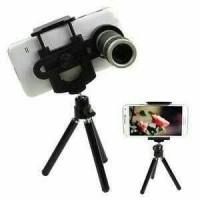 top Lensa pembesar kamera HP Tripod 8X lensa telezom murah bagus koko