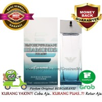 75ml Original Parfum Pria Emporio Armani Diamond Summer Ori Diamonds