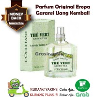 Parfum Garansi L occitane Loccitane The Vert Green Tea Original Reject