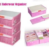 New 3in1 Underwear Oragnizer (Bahan lebih t alat rumah tangga termurah
