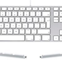(Dijamin) Apple Keyboard With Numeric KEYPAD MB110