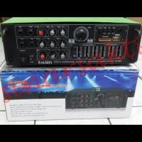 (Murah) Power Mixer Elsem 328N 4 channel ( Equaliser,USB,SD,Radio )