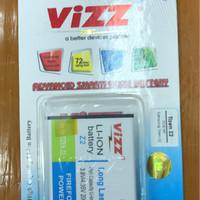 (Dijamin) Baterai Vizz Double Power Samsung Tizen Z2