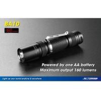 BA10 JETBeam Senter LED CREE XP-G R5 160 Lumens - Black Diskon