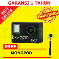 Kogan Action Camera 4K UltraHD 16MP WIFI Sport Ultra HD 16 MP