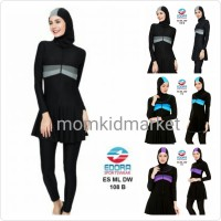 Baju Renang Muslim Muslimah Wanita Dewasa ES-ML-DW-108B XXL