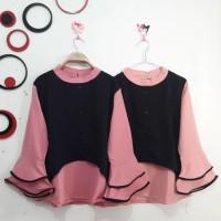new blouse hanako lengan terompet