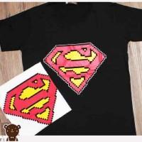 kaos quinbears tumblr tee kaos logo superman kaos lego 3957 (putih)