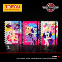 Diary Ring 3D Elastic Kecil My Little Pony Murah
