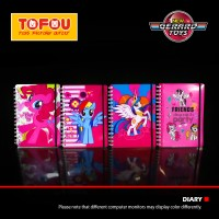 Diary Ring 3D Elastic Besar My Little Pony Murah