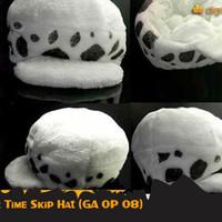 Trafalgar Law Time Skip Hat (Topi Anime One Piece - GA OP 08)
