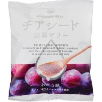 Wakashou Chia Seed Konnyaku Jelly Grape