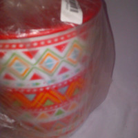 zig zag canister / toples cantik tupperware