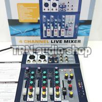 Harga mixer sound crimson f4 usb mini mixer | antitipu.com