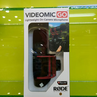 VideoMic RODE GO On-Camera Shotgun Microphone