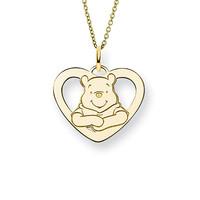 Kalung Emas Asli Karakter Winnie The Pooh Emas Tengahan |Kalung Anak