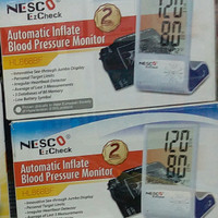 NEW alat tensi darah NESCO AUTOMATIC INFLATE BLOOD MONITOR HL868BF