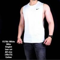 Kaos Singlet Pria Nike Low Cut