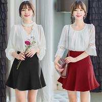 Sulli Skirt(#505)/Rok Pesta/Rok Mini/Rok Kerja