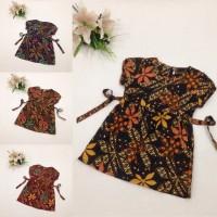 AKA030 Atasan Batik Anak Katun Motif Unik Perempuan Baju Wanita Murah