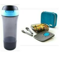 Tupperware X-Treme Meal Box + Bottle/Tempat Makan+Minum