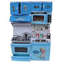Mainan Anak Perempuan Dapur Dapuran Tema Frozen Elsa Anna