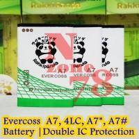 Baterai Cross Evercoss A7 4L-C Rakkipanda Double Power