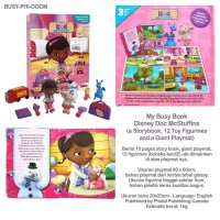 My Busy Book Disney Doc McStuffins includes a Storybook