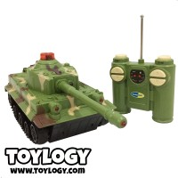 Mainan Remote Control RC Tank Battle - Radio Control